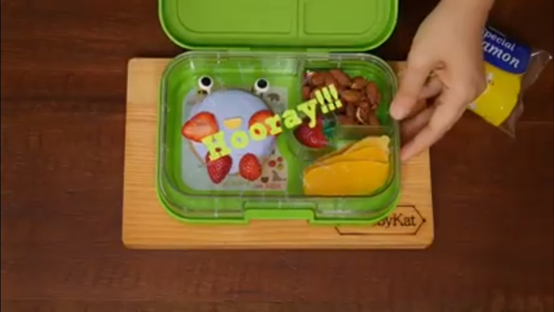 Bento by Kat featuring Yumbox
