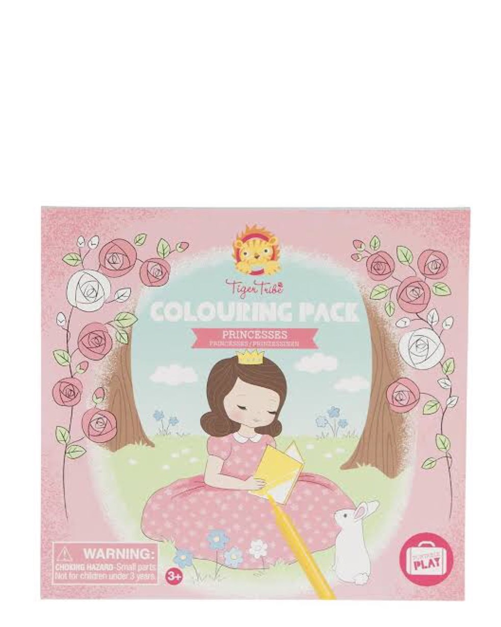 Tiger Tribe Colouring Pack - Princesses