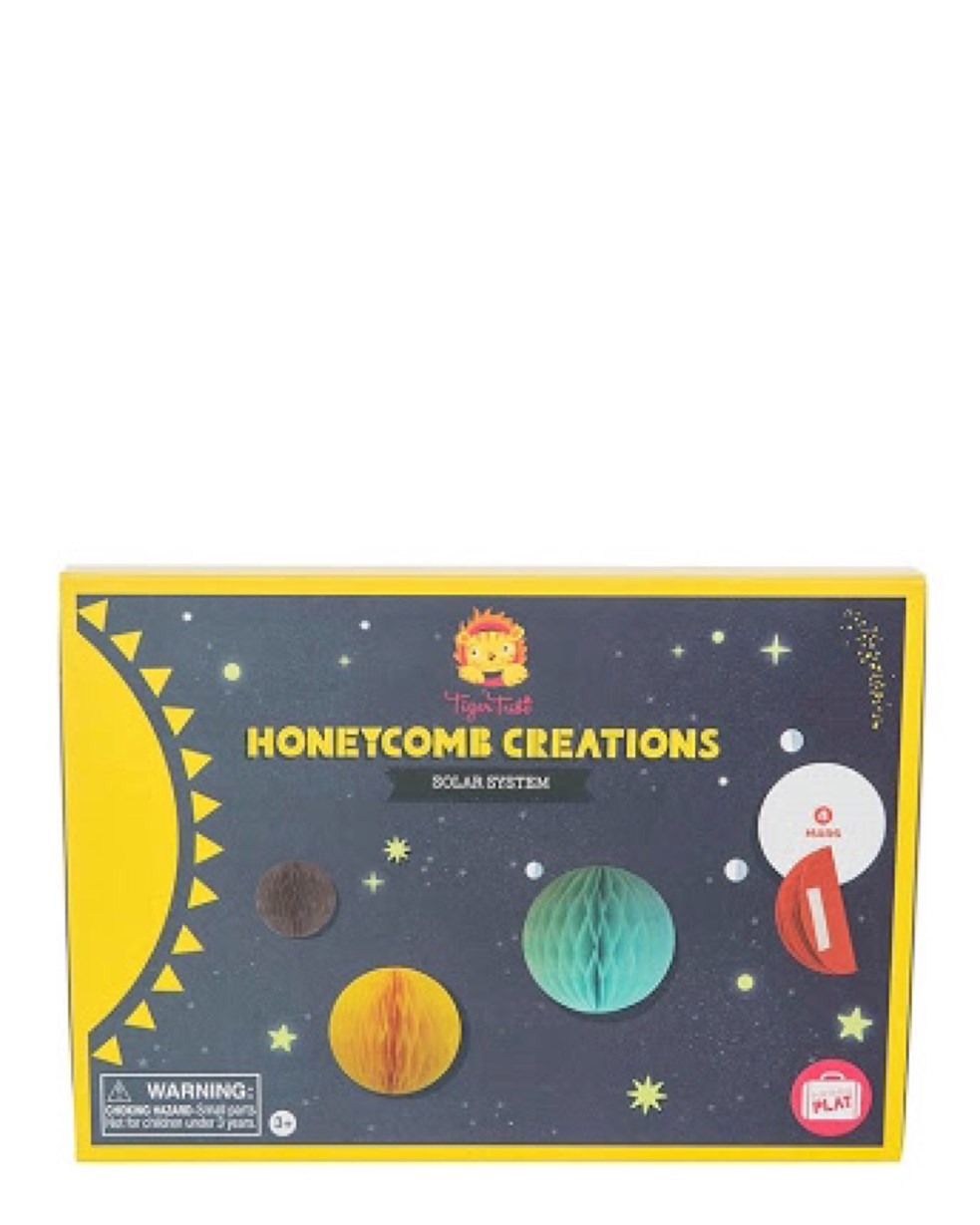Tiger Tribe Honeycomb Creations - Solar System