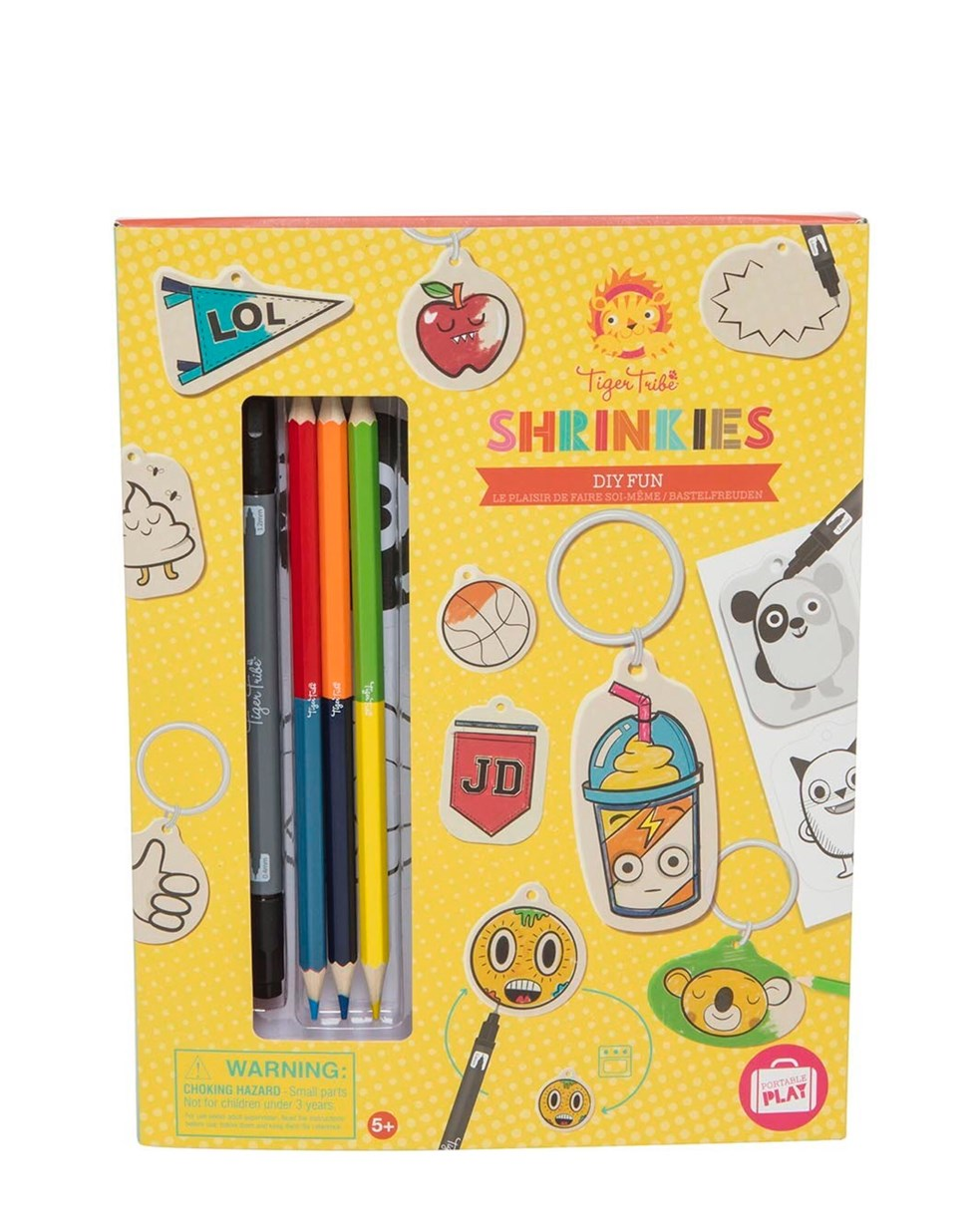 Tiger Tribe Shrinkies - DIY Fun