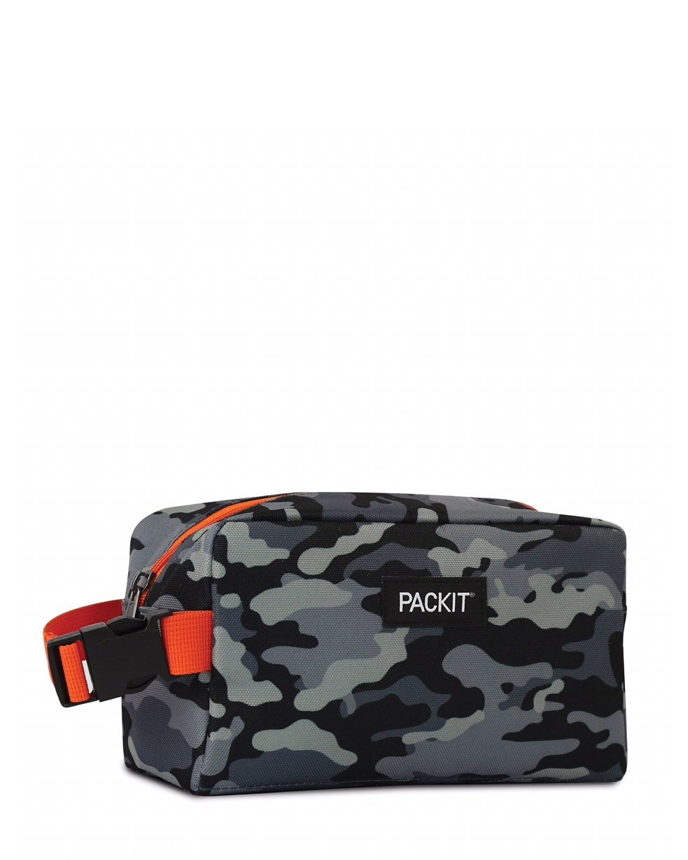 Packit Freezable Snack Box - Charcoal Camo