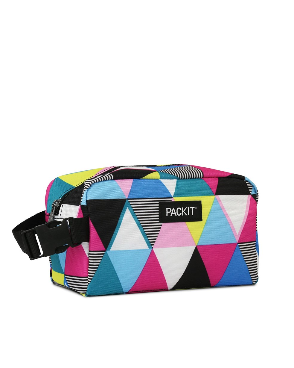 Packit Freezable Snack Box - Triangle Stripe