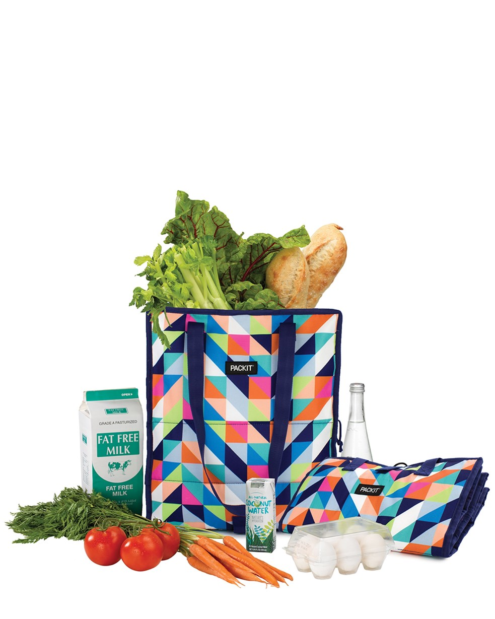 Packit Freezable Grocery Bag - Paradise Breeze