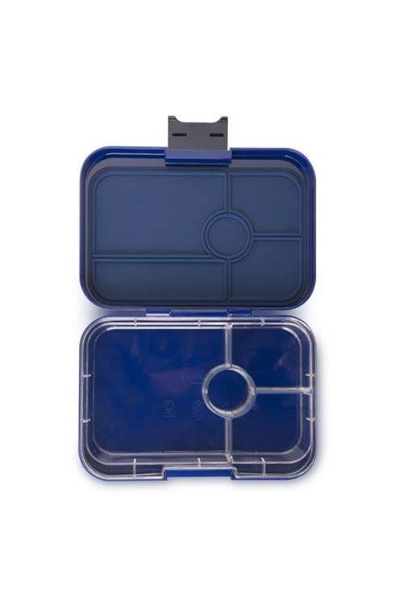 Yumbox Tapas 4 Compartment Portofino Blue (Clear)