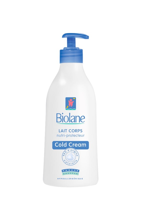 Biolane Nutri Protective - Body Milk with Cold Cream 350mL