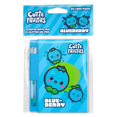 Scentco - Cutie Fruities Note Pad – Blueberry