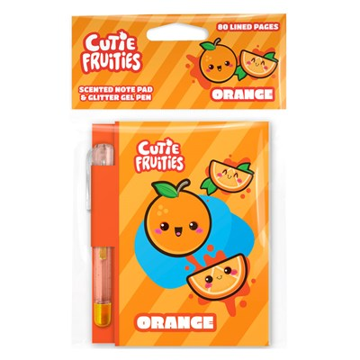 Scentco - Cutie Fruities Note Pad – Orange