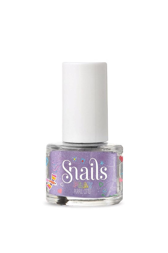 Snails Nail Polish Mini Play - Purple Comet