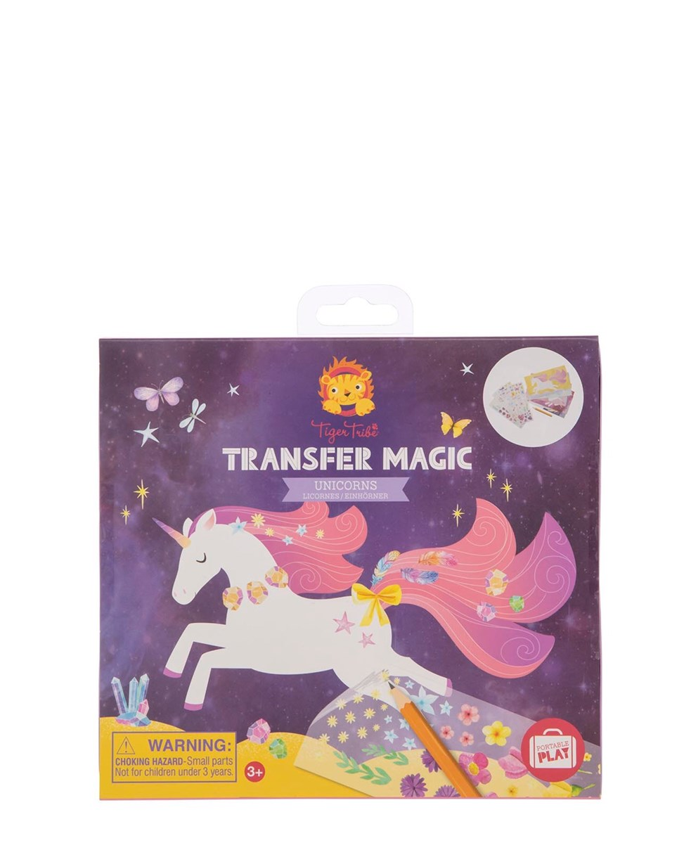 Tiger Tribe Transfer Magic - Unicorn