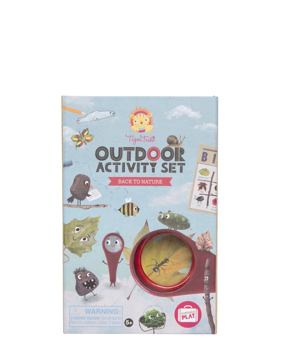 Tiger Tribe Outdoor Activity Set - Back to Nature