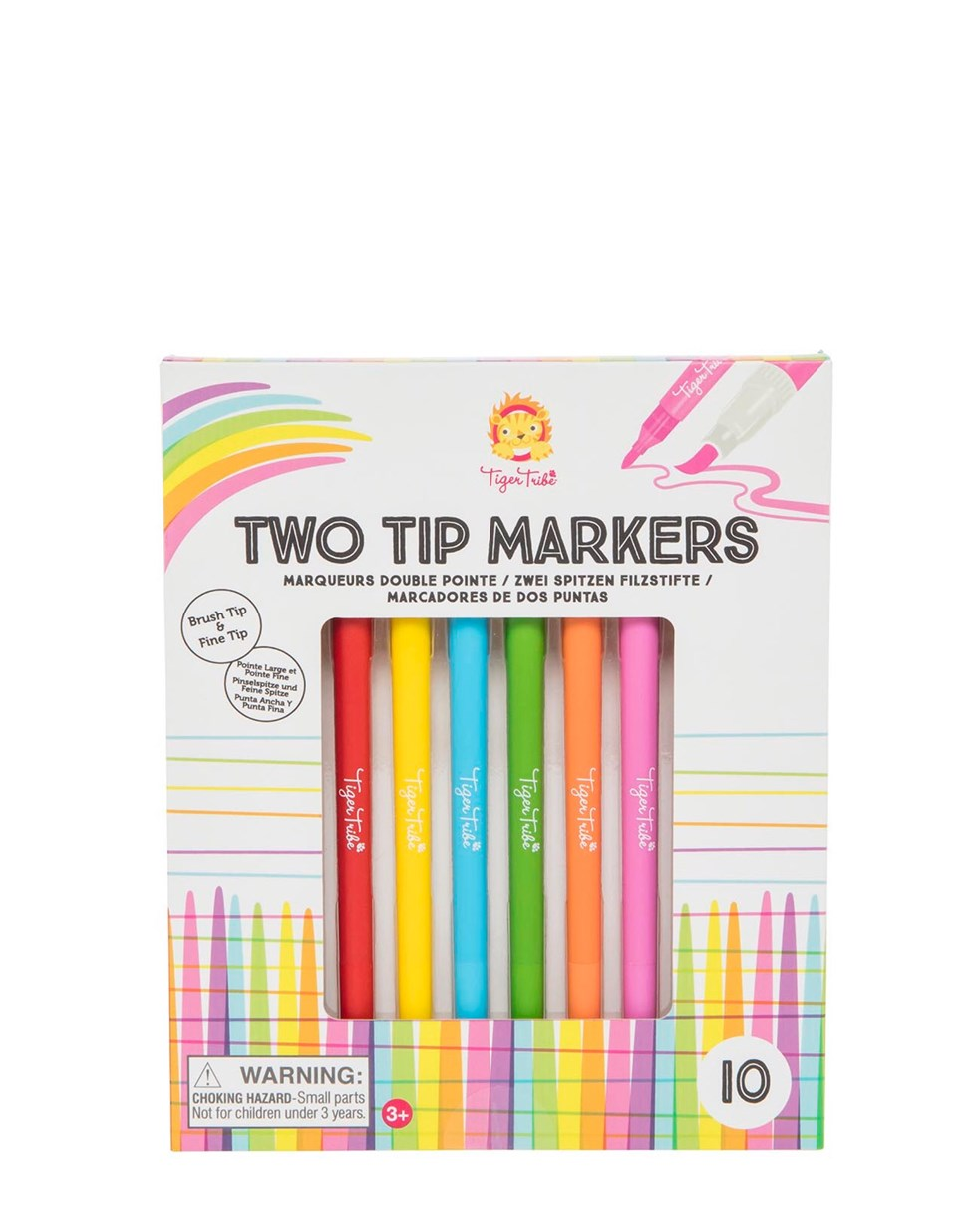 Tiger Tribe Two Tip Markers CDU/12