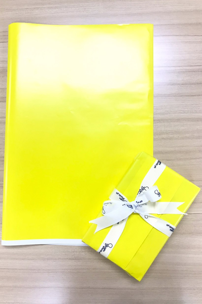 Gift Wrapper - Yellow