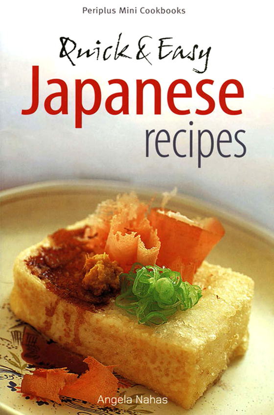 Periplus Mini Quick and Easy Japanese Recipes
