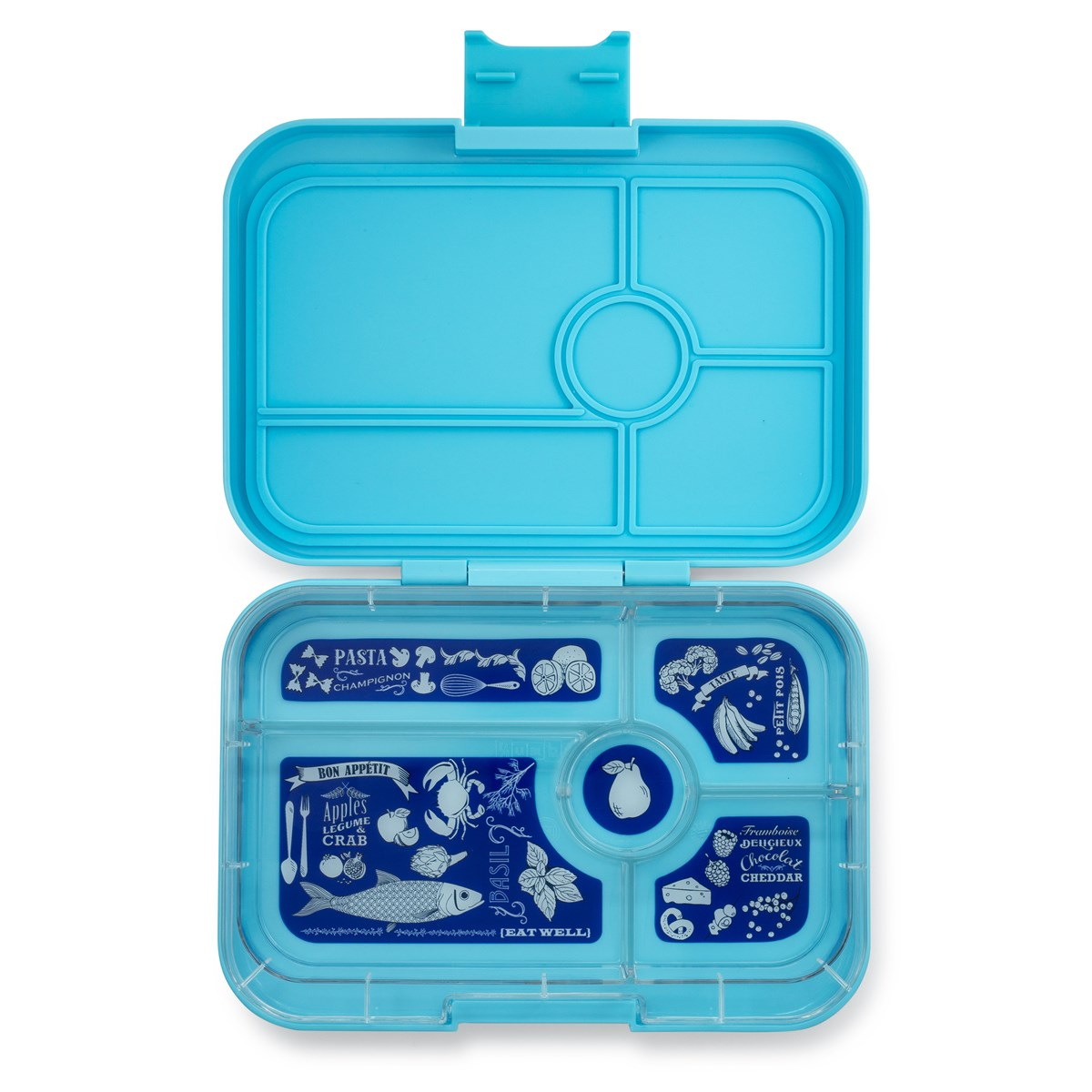 Yumbox Tapas - 5 Compartments - Nevis Blue