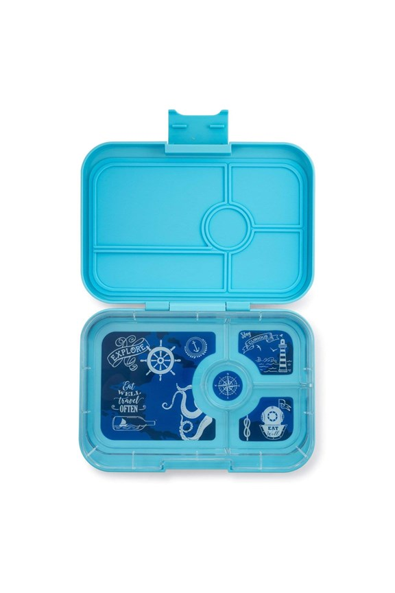 Yumbox Tapas 4 Compartments Nevis Blue