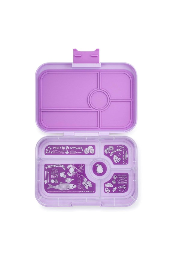 Yumbox Tapas 5 Compartments Lila Purple