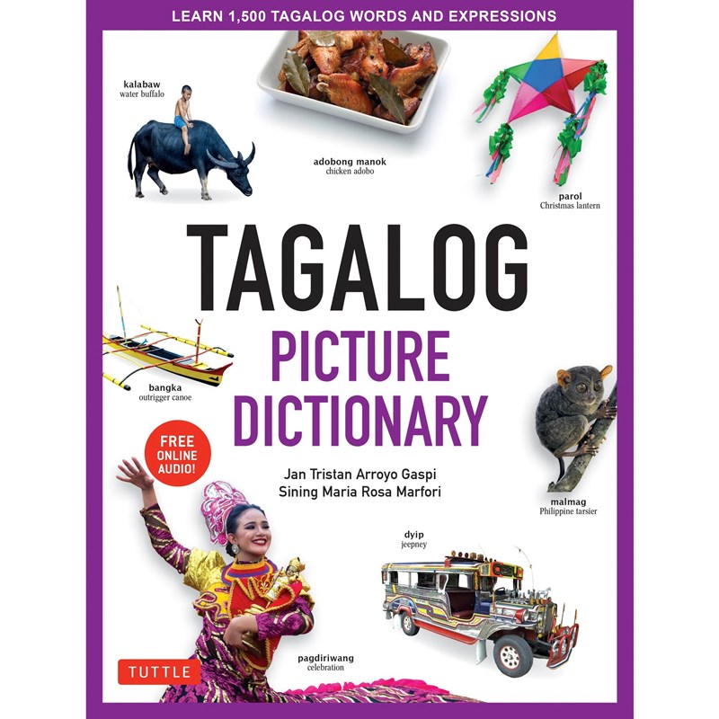 Tuttle - Tagalog Picture Dictionary