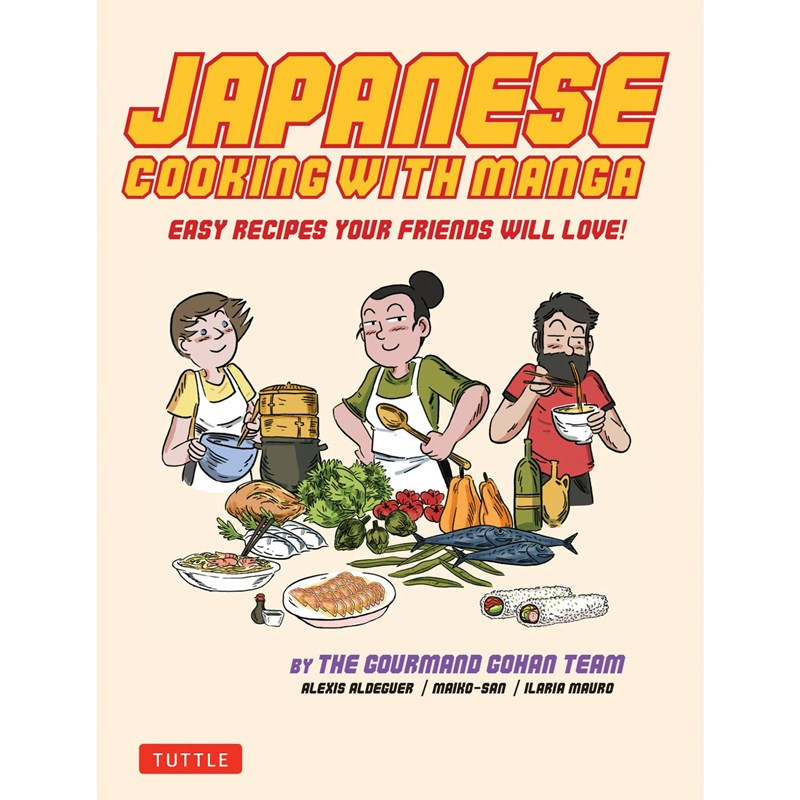 Tuttle - Japanese Cooking with Manga