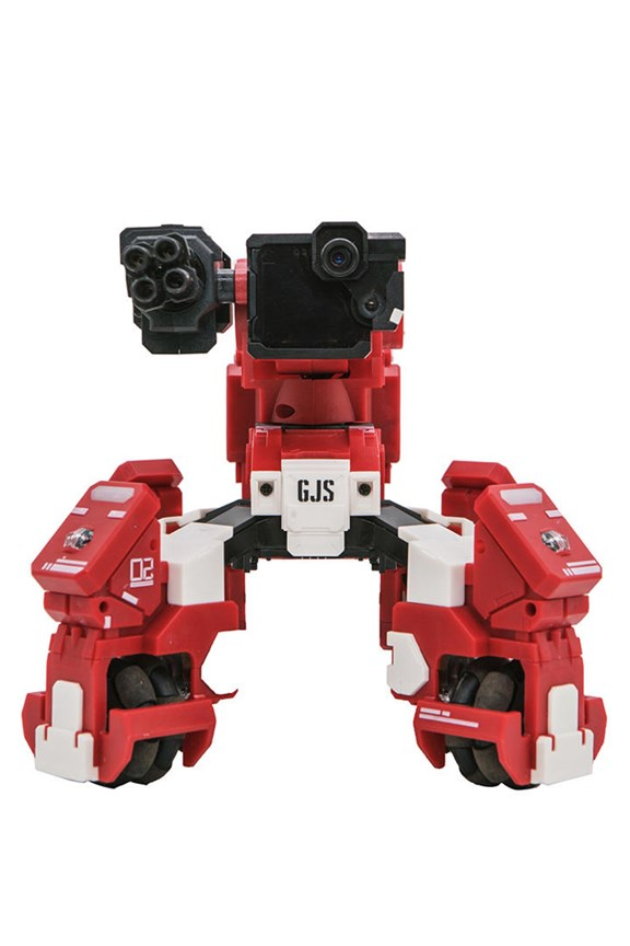 Geio A FPS Battle Bot with visual recognition (Red)