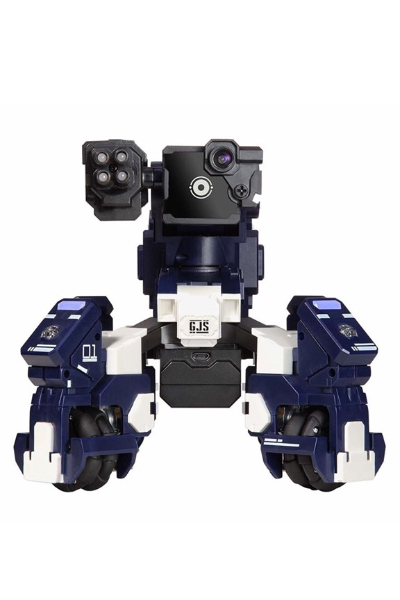 Geio A FPS Battle Bot with visual recognition (Blue)