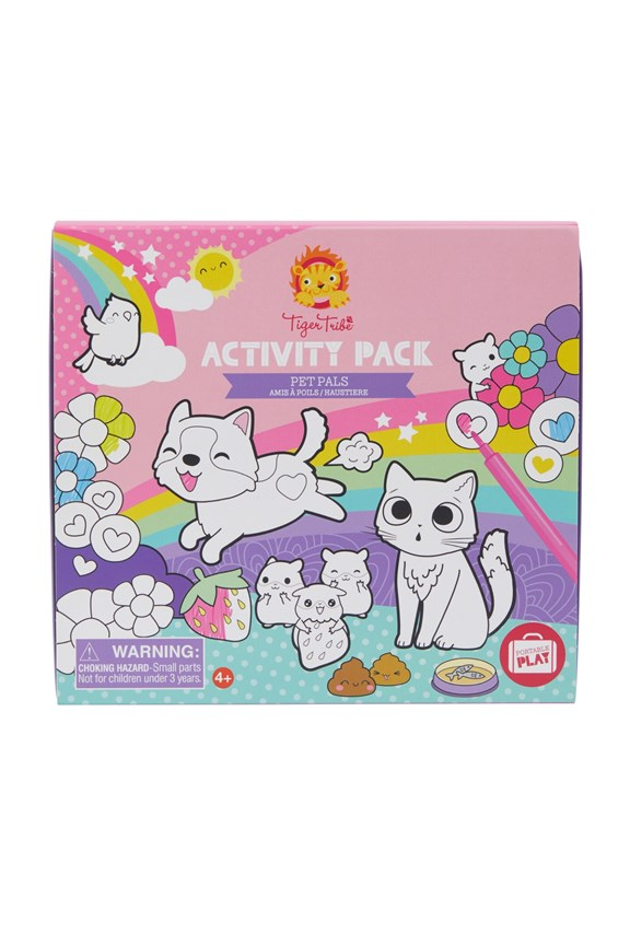 Tiger Tribe Activity Pack - Pet Pals