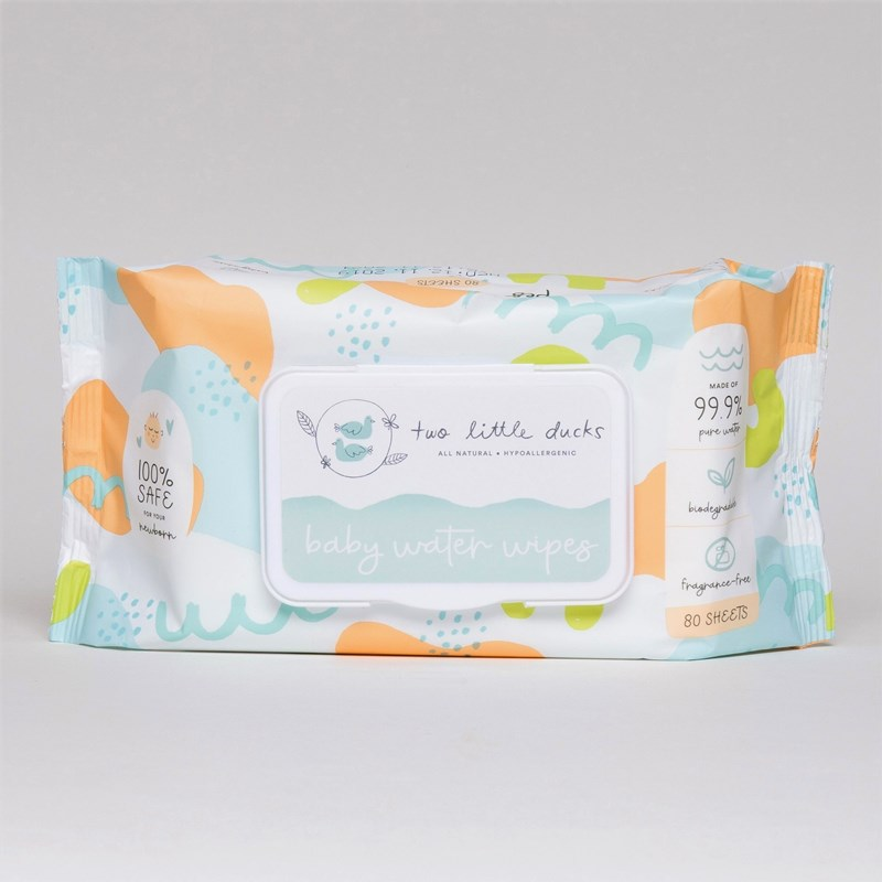 Two Little Ducks - Baby Water Wipes