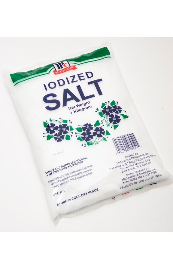 McCormick Iodized Salt 1kilogram