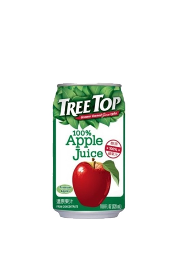 Tree Top 100% Apple Juice in can 320ml