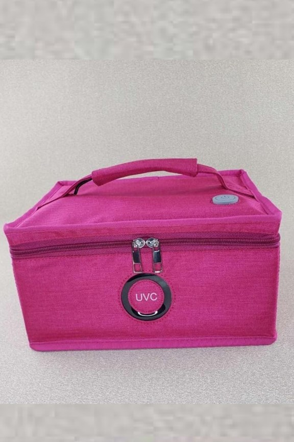 Axeniclean UVC LED Multi-function Sterilizing Bag - Pink