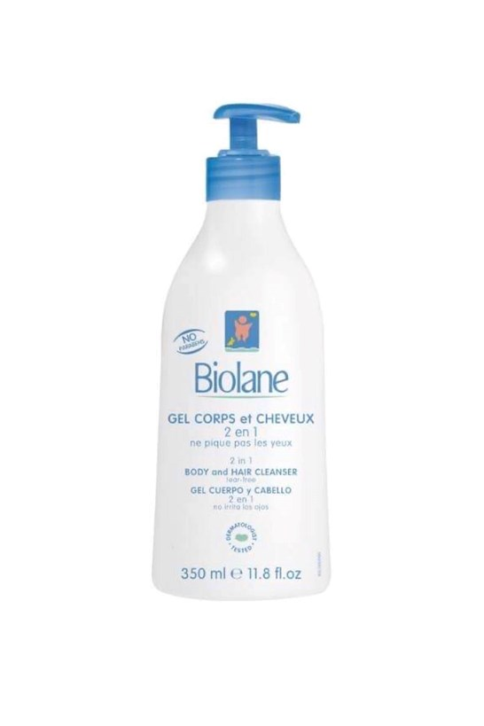Biolane 2 in 1 Hair and Body Cleanser 350ml