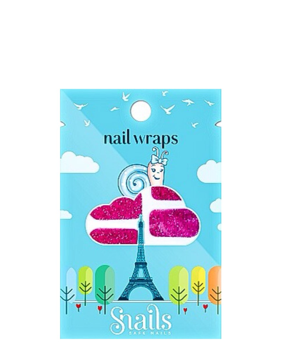 Snails Nail Wraps – Red Carpet