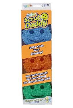 Scrub Daddy - Colored Sponge (3-pack)