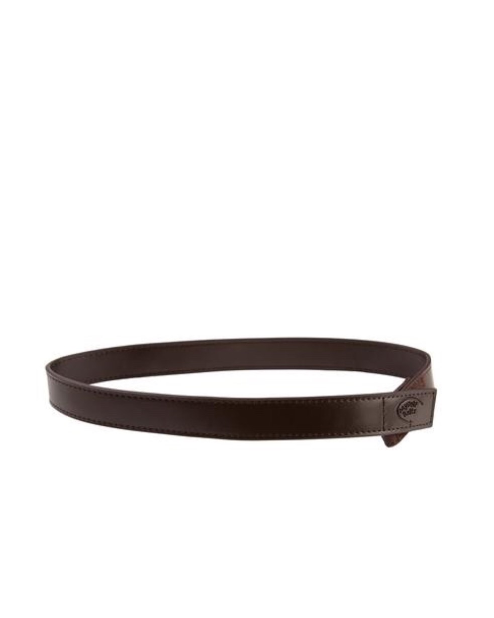 Myself Belts - Leather Belt (Dark Brown)