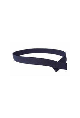 Myself Belts - Solid Navy Canvass Belt (M)