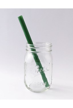 Strawesome - Smoothie Glass Straw - Jade Green