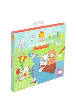 Woodland Friends Colouring Pack