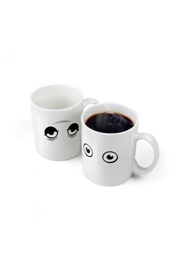 Fred - Wake Up! - Heat-Sensitive Mug
