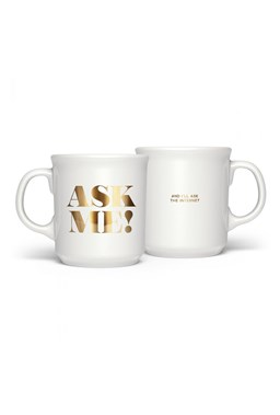 Fred - Say Anything - Ask Me Mug