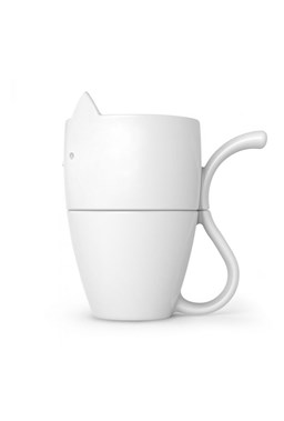 Fred -  Purr Over - Coffee Maker and Mug Set