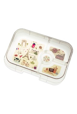 Panino tray (Paris Map) Yumbox Panino Tray