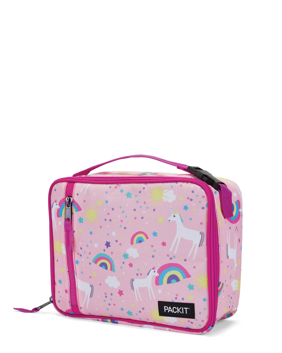 Packit Freezable Classic Lunch Bag Unicorn Sky Pink