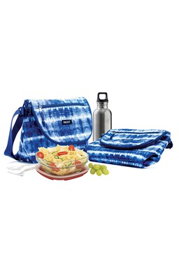 Packit Freezable Uptown Lunch Bag Tie Dye