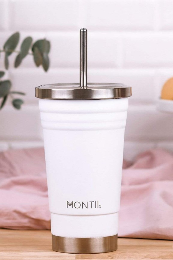 Montiico Smoothie Cup White 450mL