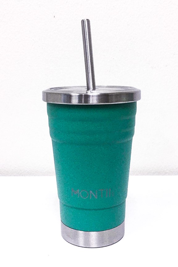 Montiico Mini Smoothie Cup Green 275mL