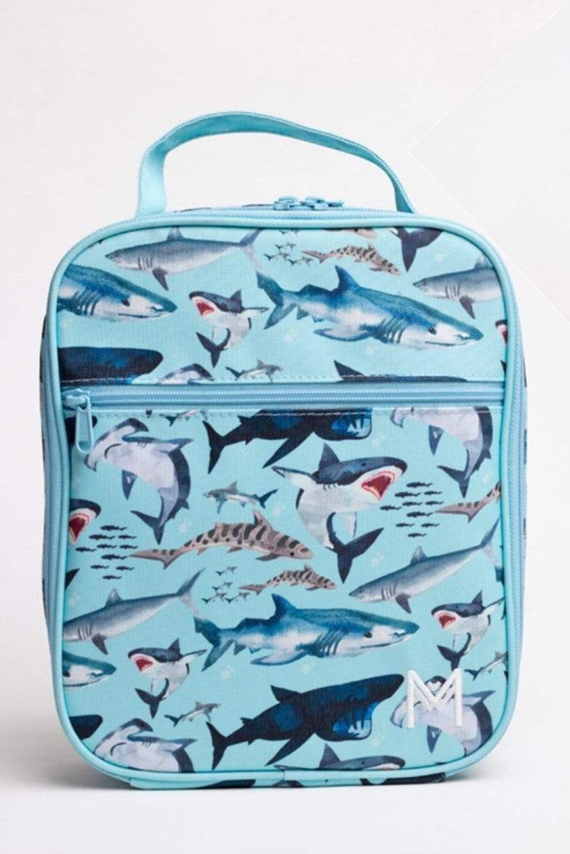 MontiiCo Insulated Lunch Bag - Sharks