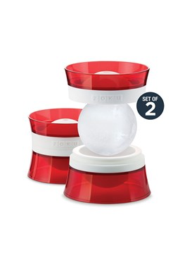 Zoku Ice Molds - Red / White