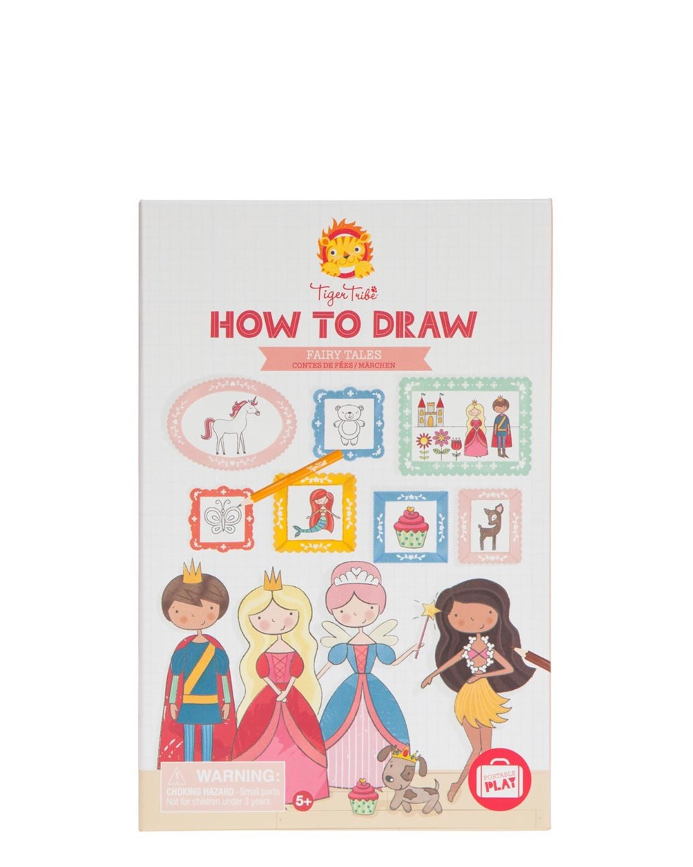 Tiger Tribe How To Draw - Fairy Tales (was For Girls)