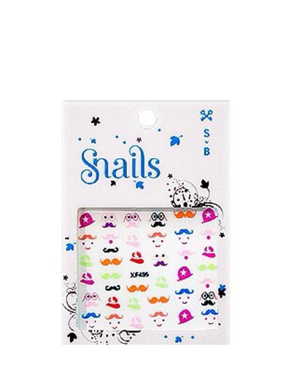 Snails Nail Stickers - Mr. Potato Head